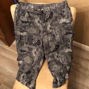Gilligan & O'Malley Sleep Pants w/ pockets Size S